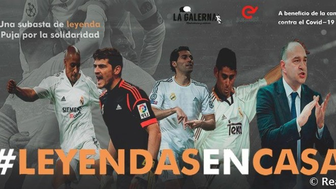 Real Madrid Foundation to host charity auction in fight against coronavirus - Bóng Đá