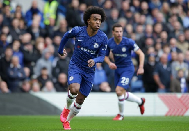Chelsea's Willian admits coronavirus fears even if football returns behind closed doors - Bóng Đá
