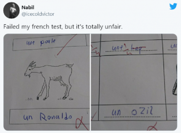Student Fails French Exam After Naming Cristiano Ronaldo As The GOAT - Bóng Đá